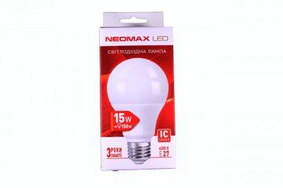 Лампа LED Neomax A70 15W 4000K
