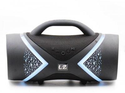 Беспроводная портативная Bluetooth колонка BOOMSBASS E818 8000mAh AUX USB Черная