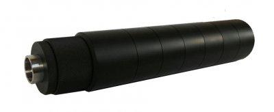 Глушитель с бустером STEEL Wick 9, 9мм,