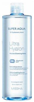 Міцелярна вода Missha Super Aqua Ultra Hyalron Micellar Cleansing Water 500 мл (8809643507295)