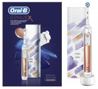 Електрична зубна щітка ORAL-B BRAUN Special Edition Genius X 20000N Rose Gold (4210201295594)