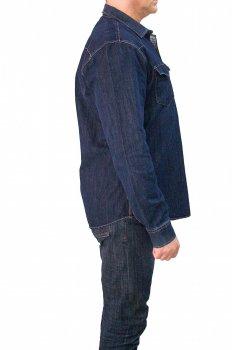 Джинсовая рубашка 1997 Talin 01 Синяя