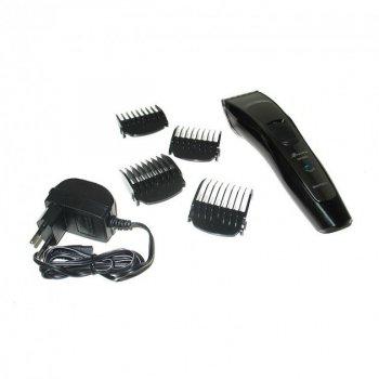 Беспроводная машинка для стрижки волос Gemei GM-6092 Black