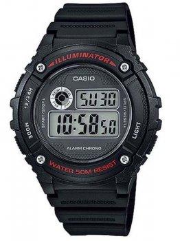 Чоловічий наручний годинник Casio W-216H-1AVEF