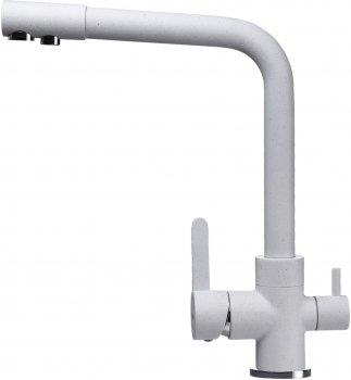 Кухонний змішувач з під'єднанням до фільтра GLOBUS LUX GLLR-0444-7-White