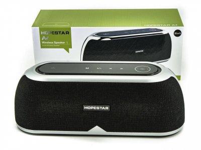 Портативная акустическая Портативная беспроводная Bluetooth (Блютуз) колонка Hopestar A4 Черная
