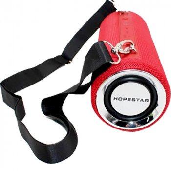 Портативна бездротова Bluetooth (Блютуз) колонка Hopestar H39 Червона