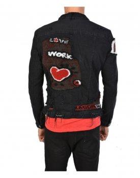 Куртка Xagon Man PMAST4 Чорна