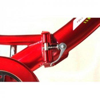 Электровелосипед Uvolt Салют Плюс Mb-36-350 24 С Корзиной Красный