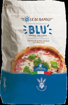 """Італійське борошно для піци Molino di Pordenone """"Блу (Синє)"""" 25 кг"""