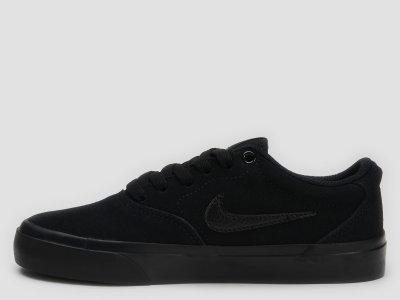 Кеды кожаные Nike Sb Charge Suede (Gs) CT3112-001 Черные