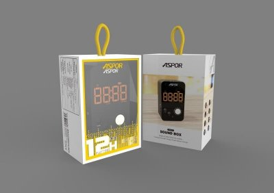 Bluetooth колонка Aspor A658 Silver