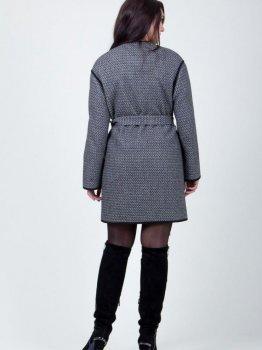 Пальто Alvita 2-408 Сіре