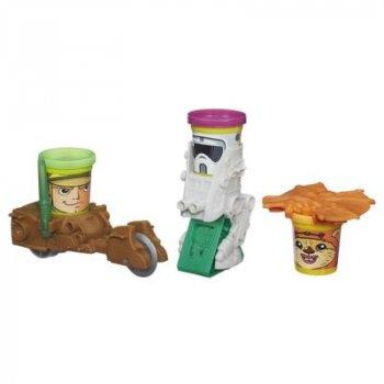 Набор пластилина Play Doh Звездные войны Миссия на планете Ендор (B0001EU4-2)