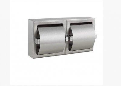 Встраиваемый держатель рулонов туалетной бумаги двойной 5322