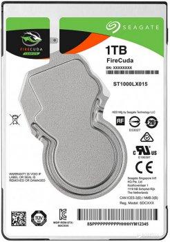 "Жесткий диск Seagate FireCuda SSHD 2.5"" 1TB 5400rpm 128MB 7мм (ST1000LX015)"