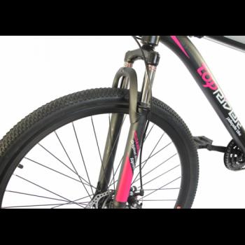 Електровелосипед Uvolt Toprider Mb-48-500 29 Дюймів Чорно-Рожевий