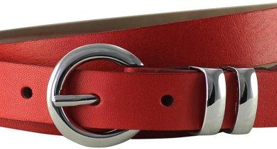 Ремень женский Lindenmann The art of belt 4604 108 см красный (1185)
