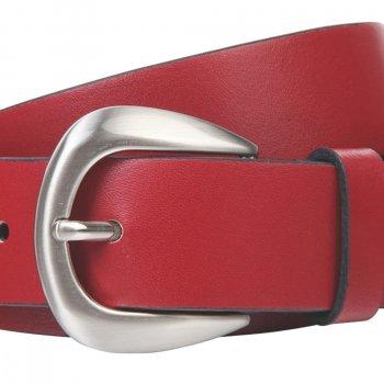 Ремень женский Lindenmann The art of belt 40132 108 см красный (1188)