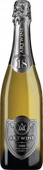 Вино ігристе Artwine біле брют 18 місяців 0.75 л 10-13.5% (4820176062819)