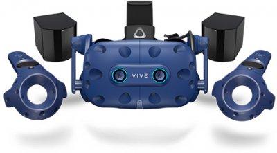 Окуляри віртуальної реальності HTC VIVE PRO FULL KIT EYE (2.0) Blue-Black (99HARJ010-00)