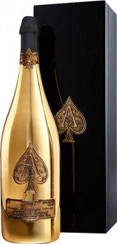 Шампанське Armand de Brignac Gold біле брют 1.5 л 12.5% у подарунковій коробці (3380203434893)