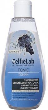 Тоник SelfieLab с экстрактом виноградной косточки, АНА-кислотами и Д-пантенолом 200 мл (4813360001183)