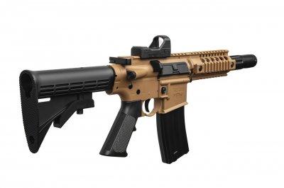 """Гвинтівка пневматична Crosman """"Bushmaster MPW"""" кал.4,5 мм (з коллиматорным прицілом)"""