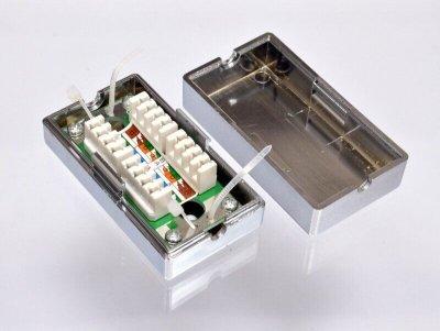Коробка соединительная EPNew krone FTP сat.5e KD-CB32