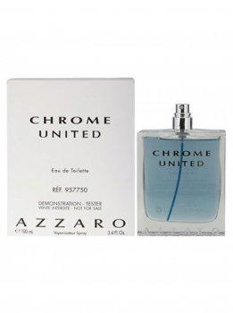 Туалетная вода для мужчин Azzaro Chrome United 100 мл тестер