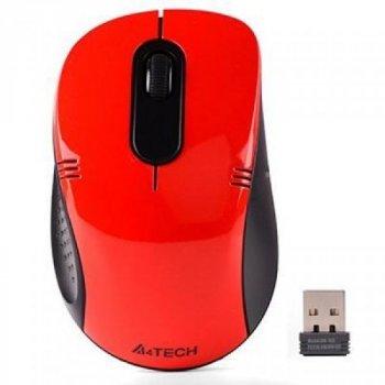 Мышка A4tech G3-630N Red
