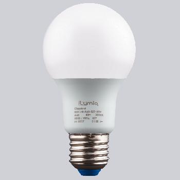 LED лампа Ilumia 8W Е27 A60 4000К теплий 800Lm (008)