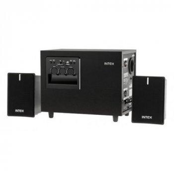 Колонки комп'ютерні INTEX SUF KOM0327 2.1 Black сабвуфер 15 Вт