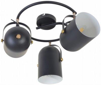 Світильник спотовий Brille HTL-209/3G E27 BK (26-798)