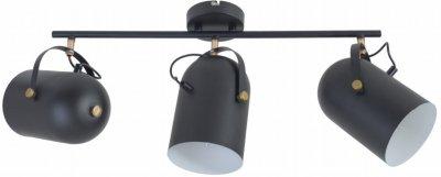 Світильник спотовий Brille HTL-209/3 E27 BK (26-797)