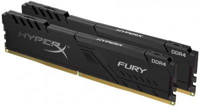 Оперативная память HyperX DDR4-2400 32768MB PC4-19200 (Kit of 2x16384) Fury Black (HX424C15FB4K2/32)