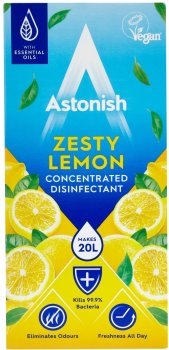 Суперконцентрат для дезинфекции и чистки Astonish Лимонный взрыв 500 мл (5060060212152)
