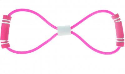 Гумка-еспандер для фітнесу Supretto Рожевий (5728-0001)