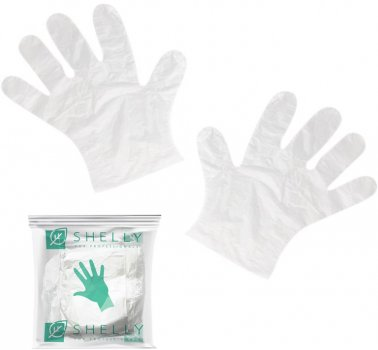 Набор перчаток для маникюра Shelly 10 шт (4823099501625)
