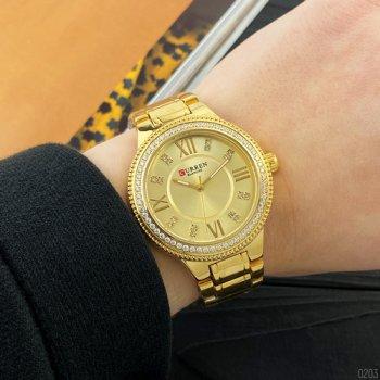 Наручний годинник AlexMosh жіночі Curren Gold (2013)