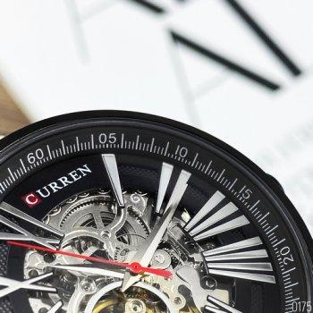 Наручний годинник AlexMosh чоловічі Curren All Black (1011)