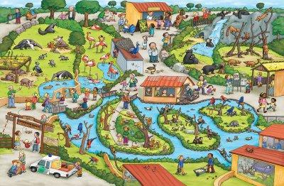 Зоопарк. Виммельбух - Каролин Гертлер (9786177395019)