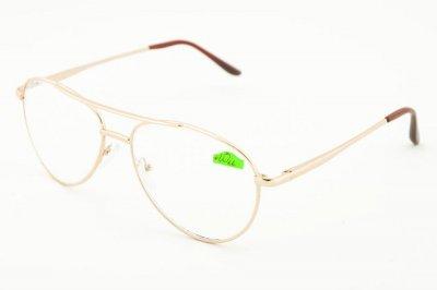 Очки с диоптрией Diamond D0007 Gold +2