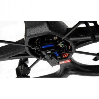Квадрокоптер с камерой радиоуправляемый WL Toys V333 Cyclone 2 Black игрушка от 14 лет акробатический и Headless режим 4 режима скорости (WL-V333c)