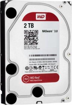 "Жорсткий диск 3.5"" 2Tb Western Digital Red, SATA3, 256Mb, 5400 rpm (WD20EFAX)"