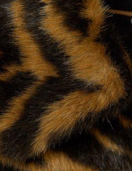 Шуба H&M Ж1051439 (07032138) колір коричневий