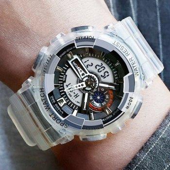 Наручний годинник AlexMosh чоловічі Sanda Black (27634)