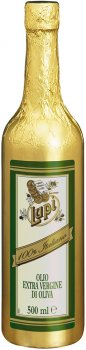 Преміум оливкова олія Lupi Extra Virgin першого холодного пресування 0.5 л (8033576194646)