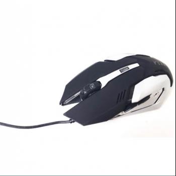 Дротова клавіатура з підсвічуванням LED і миша PETRA MK1 Чорний
