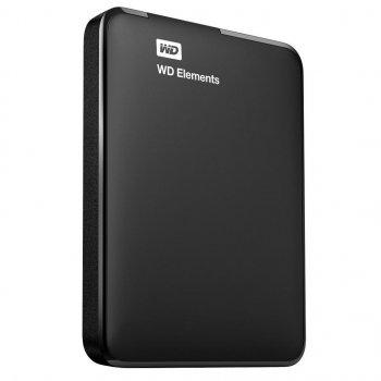 """Зовнішній жорсткий диск 2.5"""" 1TB WD (WDBUZG0010BBK-WESN)"""